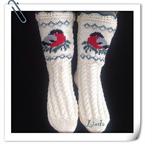 Ravelry: liwes' Bullfinch socks