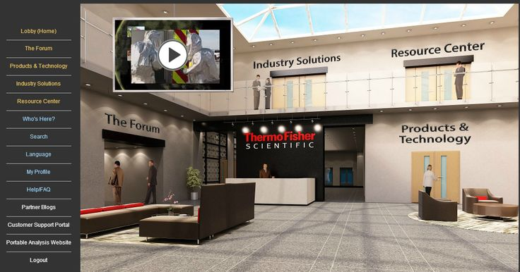 Lobby in Virtual Center of Excellence