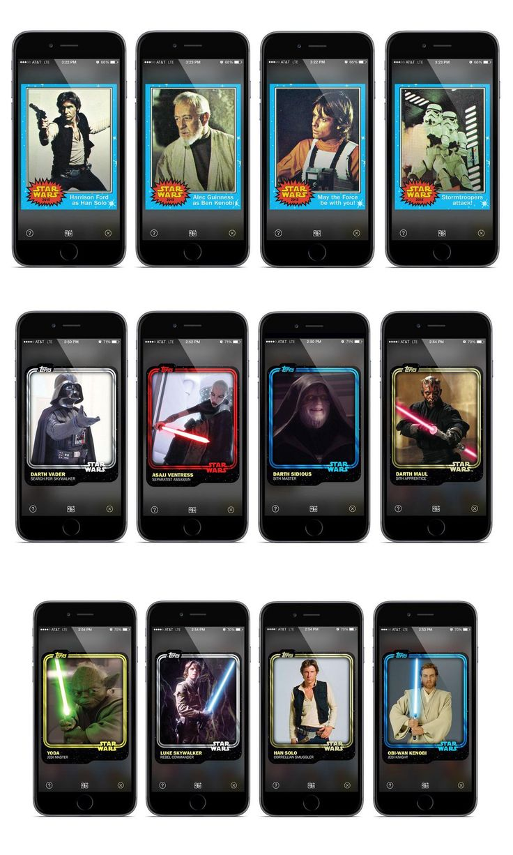 Star Wars trading cards are back — in digital form, at least.