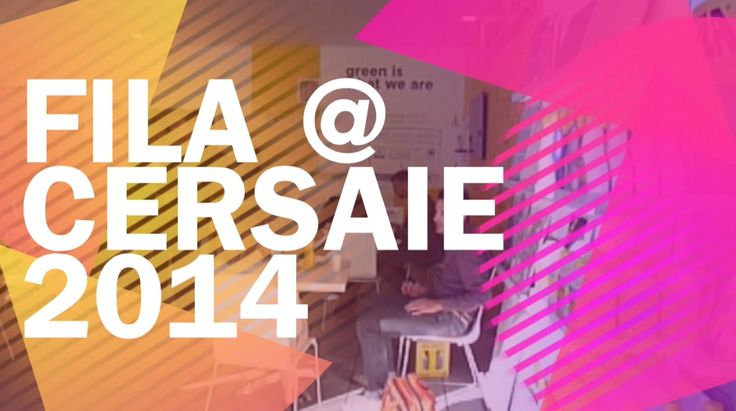 video from Fila stand @ Cersaie 2014