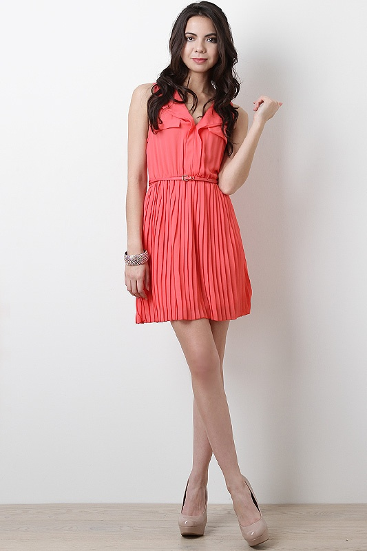 Brunch With Brittany Dress in Coral $33.10