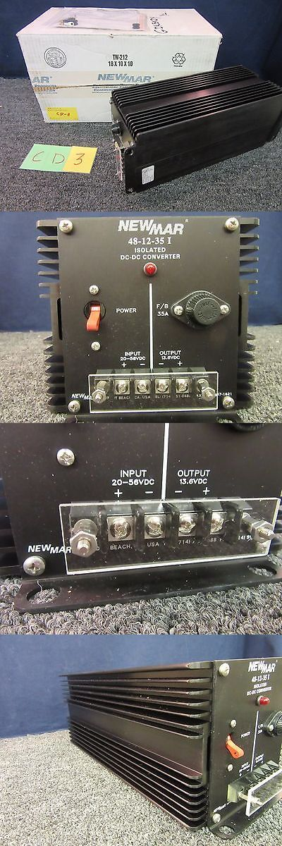 Heavy-Duty Voltage Converters: Newmar Dc To Dc Converter 48-12-35 460-0653-0 Military Surplus Electronic New -> BUY IT NOW ONLY: $451.25 on eBay!