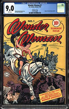 Milwaukee Bucks Owner Marc Lasry Sells Wonder Woman #1 CGC 9.0 'Solicitation Copy' For Record $291,100