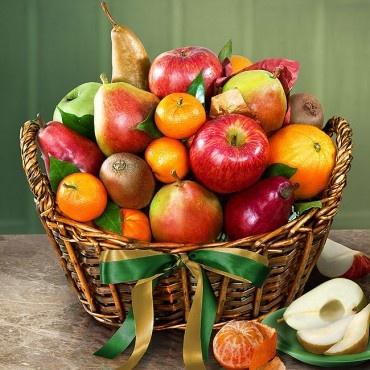 Bountiful Fruit Harvest Fruit Gift Basket