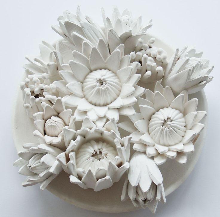 Beautiful Local Decor & Design: Noble Handcraft #ceramic #pottery #clay #handmade #handcrafted #botanical #art