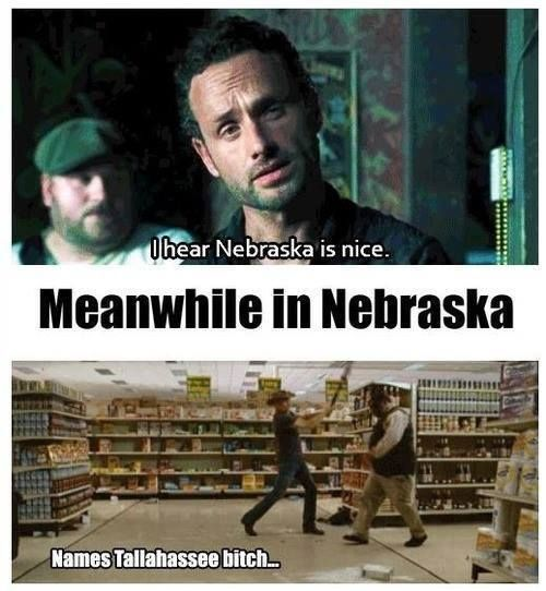 Meanwhile in Nebraska TWD