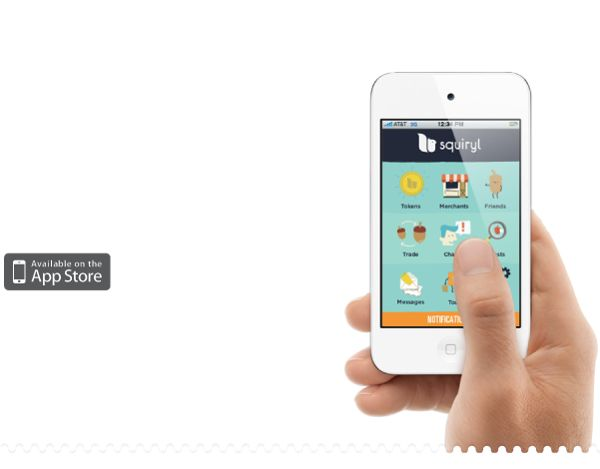 Squiryl Social Loyalty on your mobile phone by DHNN Creative Agency , via Behance