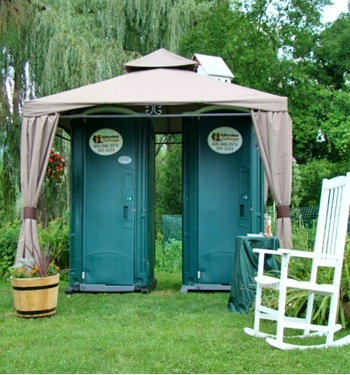 17 Best Wedding Porta Potty Images On Pinterest Wedding Ideas Wedding Stuff And Bathrooms