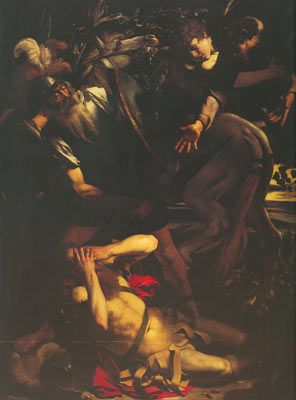 Michelangelo Caravaggio, The Conversion of St Paul Fine Art Reproduction Oil Painting
