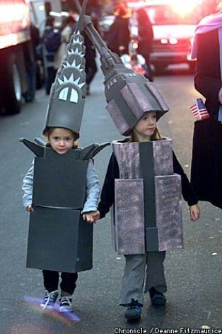 """NYC's Chrysler building & Empire State Building costumes. Recommended by Sumita Mukherjee"""" author of keiko and kenzo educational adventure books. www.keikokenzo.com"""