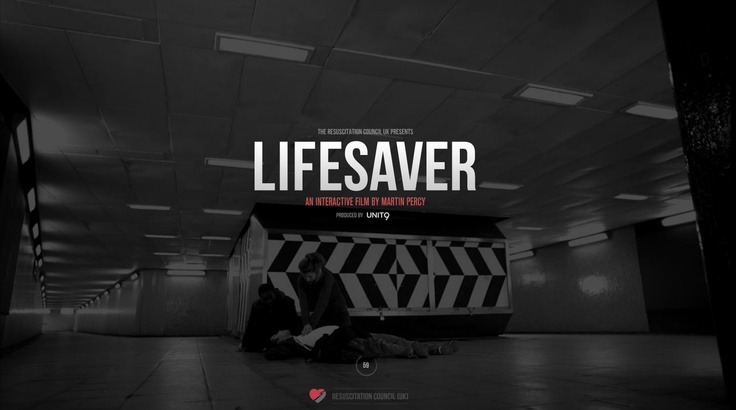 https://life-saver.org.uk/ by Unit9  Absolutely love this piece, so useful.