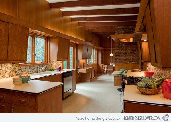 56 best images about mid century modern kitchen on Pinterest