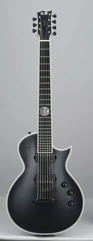 ESP Guitars Andy James E-II 7 string Eclipse with EMGs