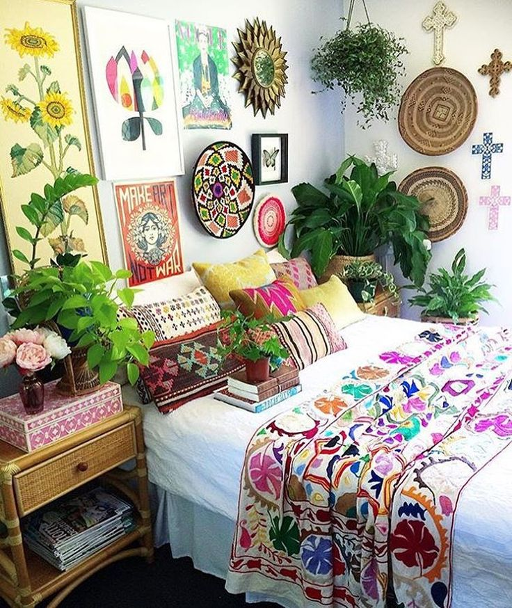 my bohemian bedroom