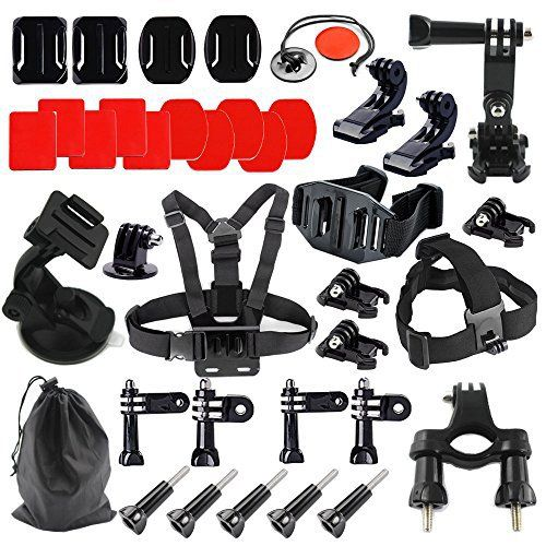 MCOCEAN 17 in 1 Accessories Set for Gopro Hero 4 Hero 3 Hero 2 Gopro Hero Camera (42pcs): Chest Harness + Head Strap + Helmet Strap + Suction Cup + Drawstring Bag + Tripod Mount + Joint etc. review - http://www.bestseller.ws/blog/camera-and-photo/mcocean-17-in-1-accessories-set-for-gopro-hero-4-hero-3-hero-2-gopro-hero-camera-42pcs-chest-harness-head-strap-helmet-strap-suction-cup-drawstring-bag-tripod-mount-joint-etc-review/
