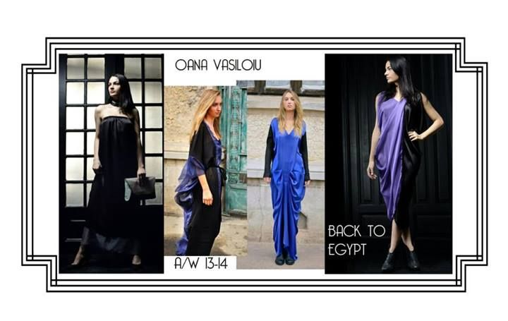 Oana Vasiloiu Back to Egypt Collection
