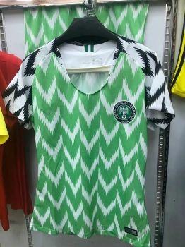 51f97c0a31b 2018 World Cup Women Jersey Nigeria Home Replica Green Shirt [BFC941 ...