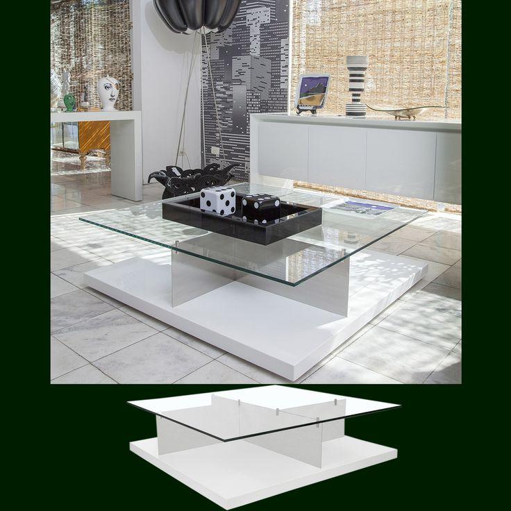 Mesa de Centro Pop Designer: Arbel Reshef Varias opções de medidas e acabamentos