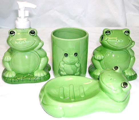 Frog bathroom