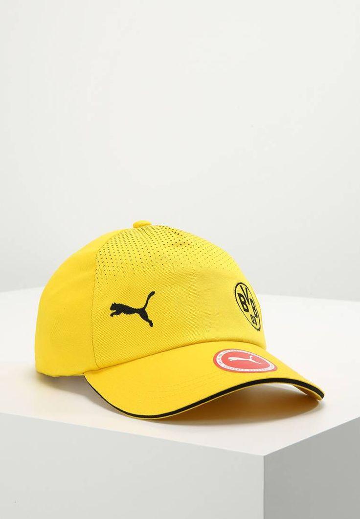 Puma. BVB - Fanartikel - cyber yellow/black. Materiaal buitenlaag:100% katoen. patroon:gestipt. sportcategorie:voetbal