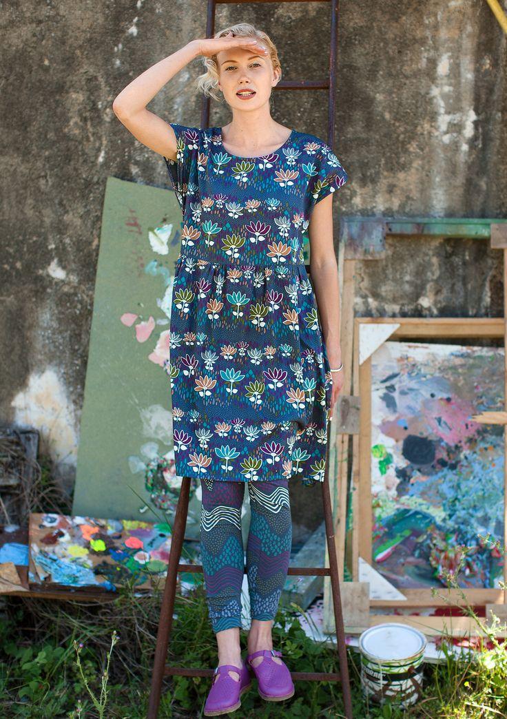 """Tove"" cotton dress by Gudrun Sjödén"
