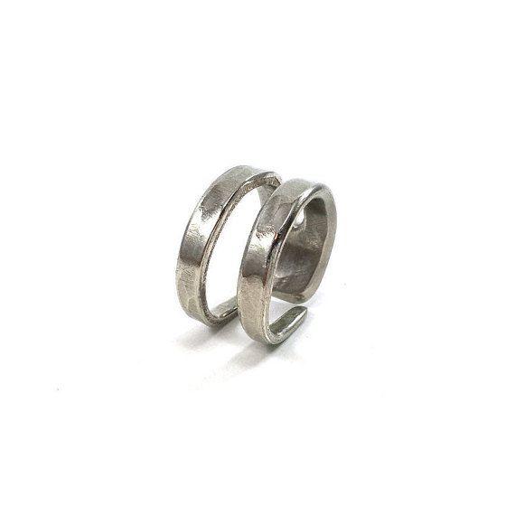 Alte Löffel Ring halb Gabel tafelsilber von SilverWearByMisty