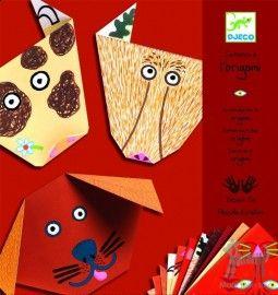 Origami z naklejkami – ZWIERZĘTA w Sztuka dla dzieci Dziecięca twórczość origami Pikinini-More than toys, zabawki ekologiczne, gotowanie z d...