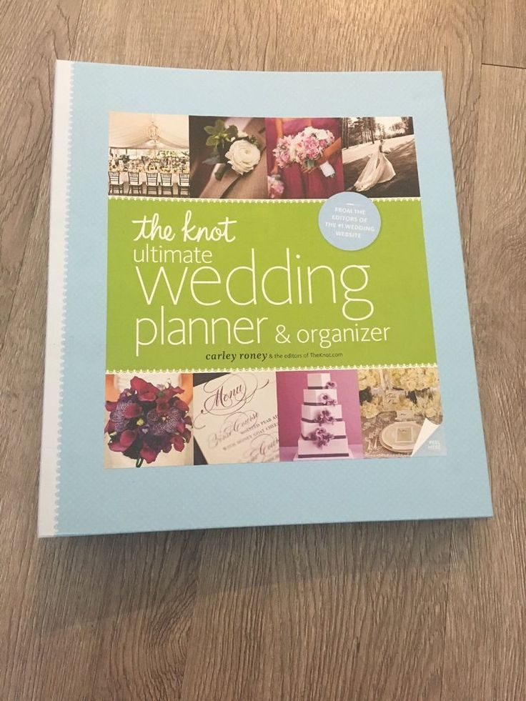 The Knot Ultimate Wedding Planner and Organizer by Carley
