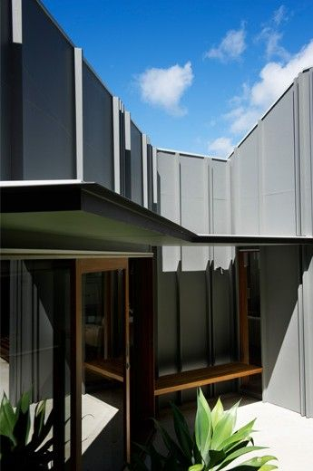 Fibre Cement with Timber Battens
