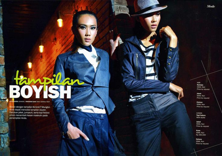 All wardrobe from NOIR (X)S.M.L are appeared on Kartini - June 2013