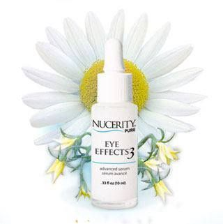 EYE EFFECTS 3.... Use for fine lines, wrinkles, puffiness and dark circles.... Contains Argiline...Referred to as Nature's Botox!! www.MyNucerity.biz/MaryJones