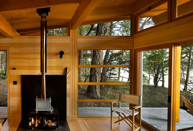 Bright little cabin