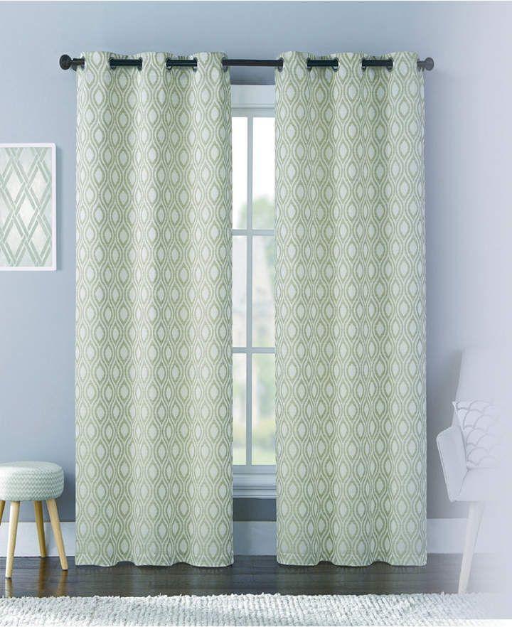 Mystique 76 X 95 Panel Pair Curtains Panel Curtains Grommet