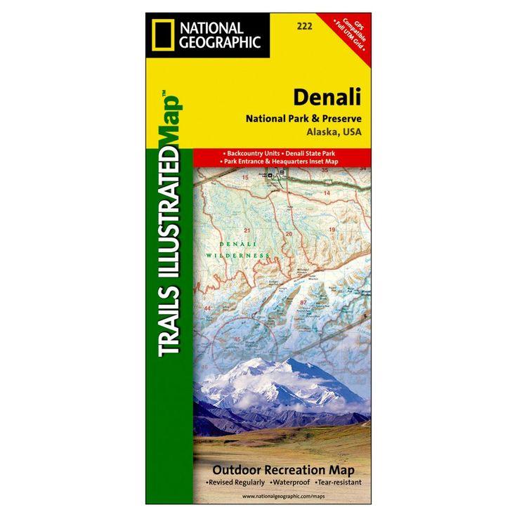 Denali Backcountry Zones Map From Httpwwwalaskaorgassets - Mt mckinley on us map