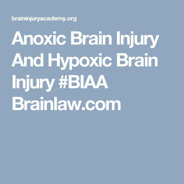 Anoxic Brain Injury And Hypoxic Brain Injury Brainlaw TBI