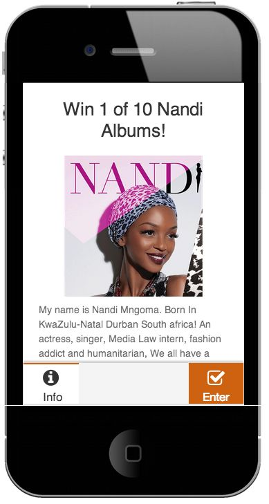 Win with #Nandi and @Student Brands #Mobi Competition Music giveaway