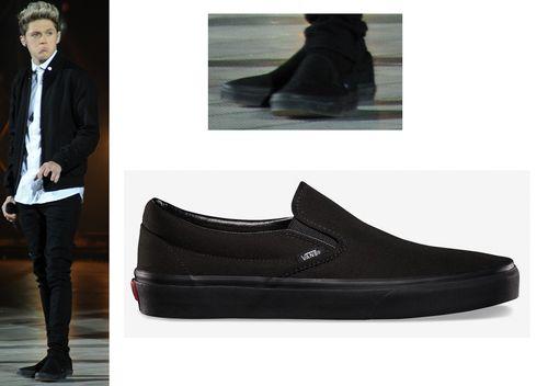 Niall Horan dei One Direction mostra le sue VANS full black! Chiedici le scarpe dei tuoi idoli. https://www.facebook.com/0.basicstorm