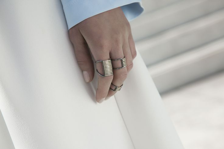 Ariane Labed with CHARNIERES rings for YSA