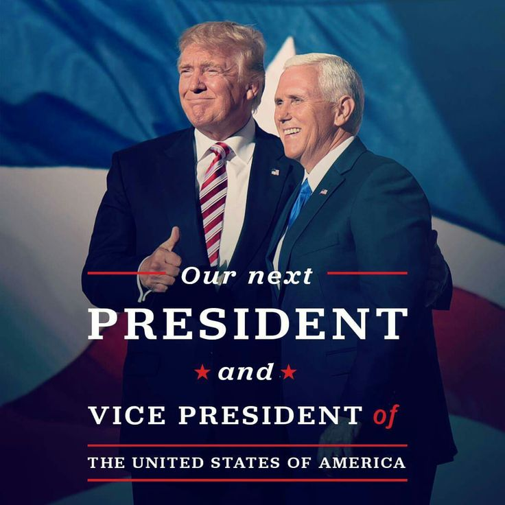 Congratulations to President-elect Donald J. Trump and Vice President-elect Mike Pence on their historic win!