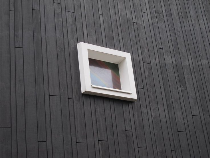 Image result for how to blacken wood cladding