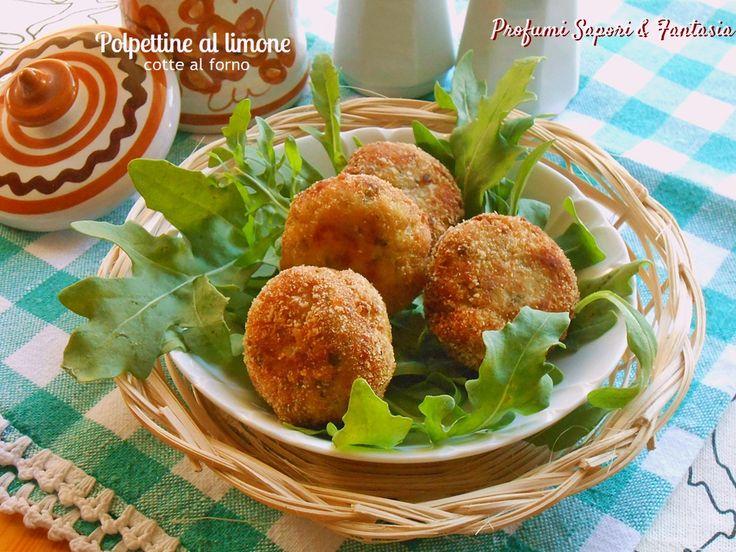 Ottime le polpettine al limone cotte al forno; leggere e aromatizzate sapranno essere apprezzate in tavola accompagnate dai contorni preferiti.