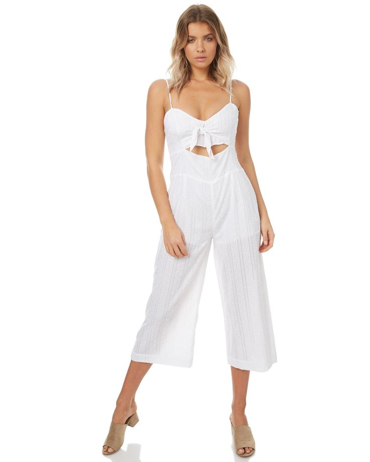 MINKPINK - Blessings Tie Front Jumpsuit