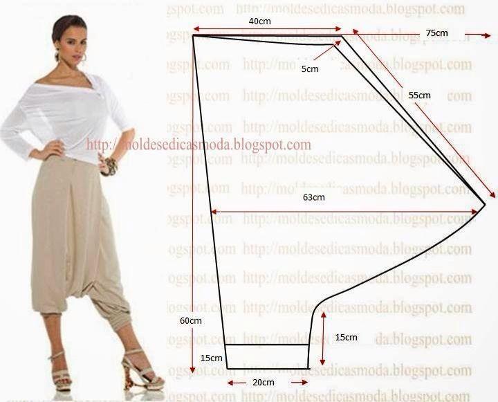 Pantaloni modello turco