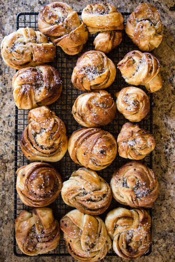 Swedish Cardamom Buns - Hither & Thither