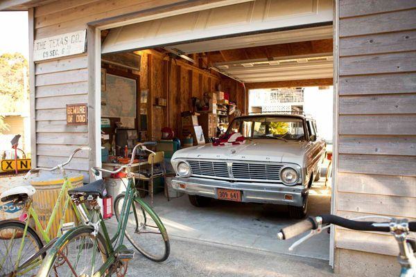Garage double entry