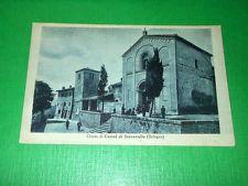 Cartolina Castello di Serravalle ( Bologna ) - La Chiesa 1930 ca