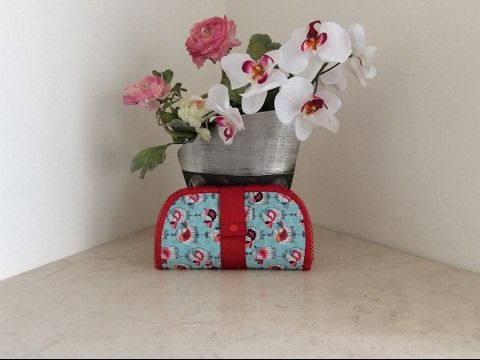 Couture Madalena - Coudre Une Trousse Multiusages - YouTube
