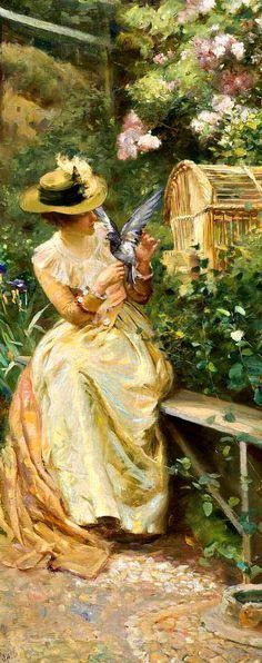 Love's Messenger, by Robert Payton Reid