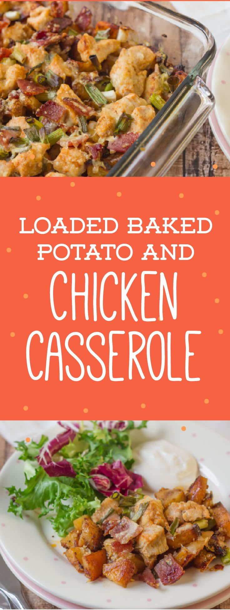 Prep this Loaded Baked Potato and Chicken Casserole in just 30 minutes ...