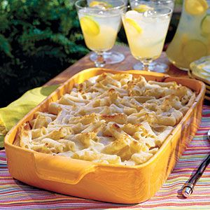 Quick and Easy Dinner Recipes: Three-Cheese Baked Pasta < Italian Pasta Casserole Recipes - Southern Living Mobile